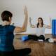 Pilatesworkout für Mamas